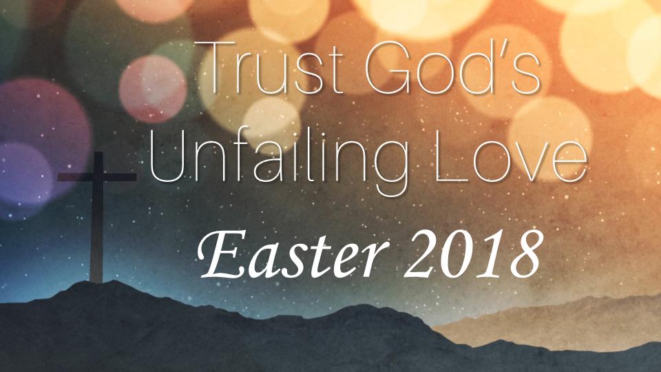 Trust God\'s Unfailing Love Image